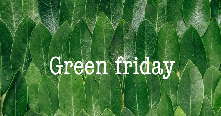 Green Friday vs Black Friday